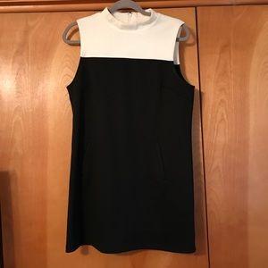 Cute black and white dress